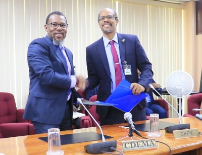 CRFM and CDEMA sign agreement to enhance disaster management and resilience in fisheries